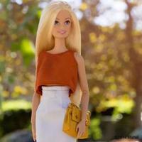 女神风格时尚芭比娃娃头像