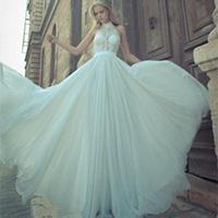 欧式最漂亮的婚纱礼服图片