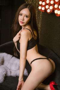 [ugirls尤果网]蛇精脸美女白雪丁字裤翘臀图No.233(上)