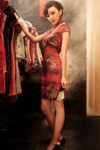 丝袜诱惑旗袍美女端庄气质迷人