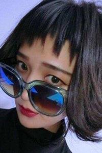 内扣空气刘海女生甜美发型