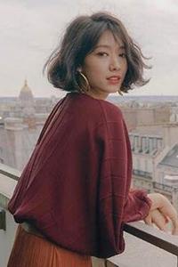 女生空气刘海长发发型