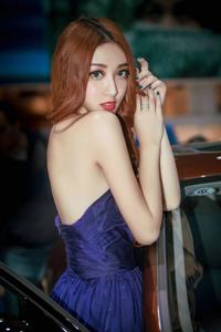 时尚美女车模天使面孔电眼无限魅惑