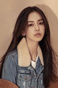 Angelababy杨颖新款韩式中长发烫发