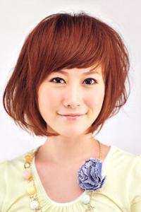 空气刘海学生头女发型