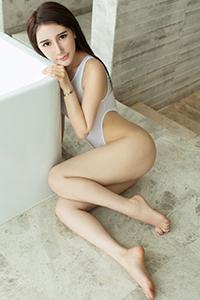 [Ugirls尤果网]模特王瑾轩 酥胸半裸诱惑浴室写真NO.95(下)