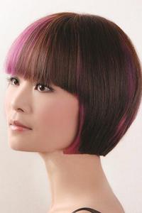 漂亮短发女生个性发型