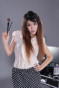 丽柜写真 时尚佳人怡萱高跟长腿翘臀肉丝致命诱惑照