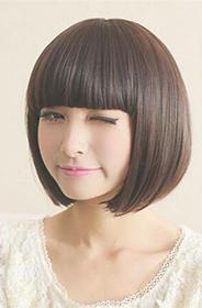 短发女生之韩式短发清新可爱流行发型图片