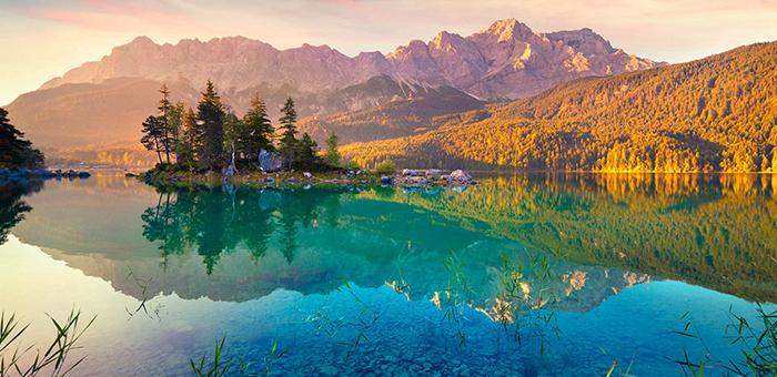 令人心旷神怡的青山绿水清新养眼风景唯美壁纸
