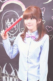 清纯女生的时尚校园风可爱发型