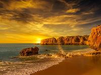 精选绝美海边风景图片日出日落唯美壁纸